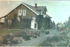 Colourized Photo of House
