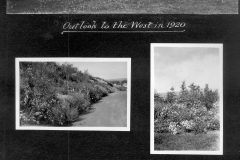 Outlook to West in 1920