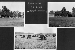 Visit to E P Ranch by Royal Command